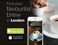 Coffee Locator App Mockup