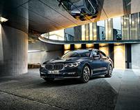 Postproduction BMW 7er