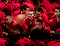 Buddhists in Tibet