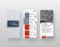 Wall Tiles Collection Apps Design