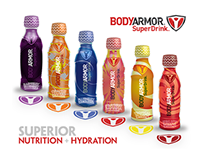 BODYARMOR SuperDrink Redesigned Label