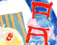 Juicy still life illustrations