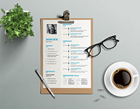 Free Simple Awesome Resume Template
