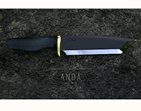 Anoa, outdoor kitchen knife