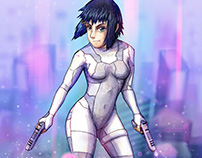Ghost in the Shell • animated fanart