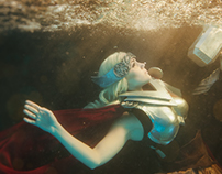 Underwater Cosplay - Thor
