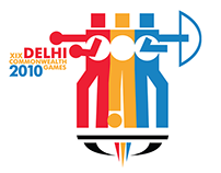 Common Wealth Games India (CWG India) Identity Design