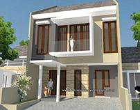 Renovasi Rumah Tropis Moderen