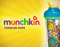 Munchkin - Toddler Cups Case Study | 2013