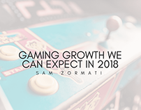 Gaming Growth We Can Expect in 2018