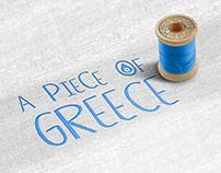 A piece of Greece Logo