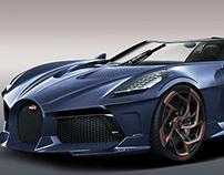 Bugatti La Voiture Noire Roadster