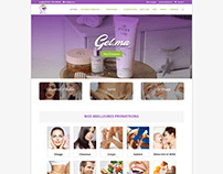 Gel.ma E-commerce Website