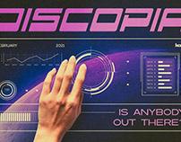 Discopia - Futuristic Tech Fonts
