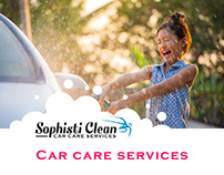Website Design & Template - Sophisti Clean- Car Wash