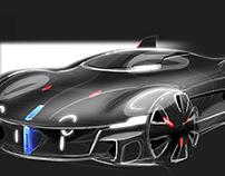 Alpine U.F.O concept