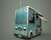 3D Model - Old Car