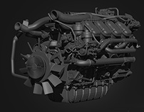 Euro 6 Engine-model