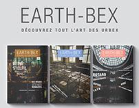 Création de magazine : EARTH-BEX