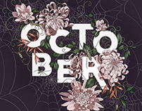 October Procreate Template
