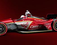 Flying Lizard IndyCar concepts + suit