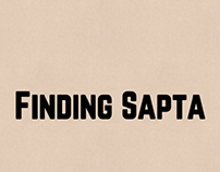 Finding Sapta (illustrations for a microsite)