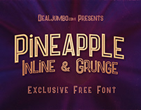 Pineapple Inline – Free Font
