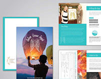 Autism Rescue Angels Brochure Design