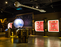 Infinite Worlds of Science Fiction Exhibit Graphics