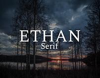Ethan - Free Serif Font
