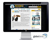 Globoforce, Ltd. Web Design