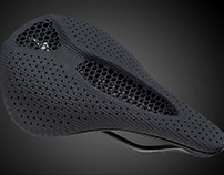 Carbon 3D+Specialized 3D Printed Saddle