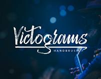FREE | Victograms - Handbrush Script Font