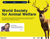 MY DESIGN FOR World Society for Animal Welfare