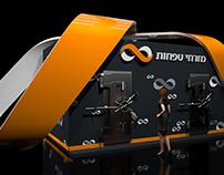 Mizrahi Tefahot Bank Exhibition Stand Tel Aviv