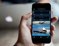 Aircraft chartering Mobile App