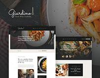 Giardino - An Italian Restaurant & Cafe WP Theme