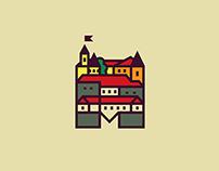 Туристичний логотип Мукачево, ще одна версія