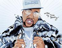Pimp C Book Cover Illustration