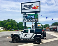 Muffler Master Truck and Jeep Accessory Store Designs