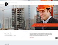 Construction Website - Pebble Softwares