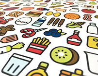 160 Cooking Icons