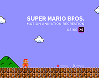 Mario Animation using Adobe XD