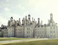 Château de Chambord High-Poly 3D Modeling