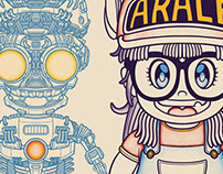 The Birth Of ARALE - Illustration Character