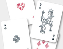 The most minimalist cards deck - Ludovico Pincini
