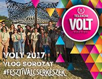 VOLT fesztivál 2017 – VLOG – #fesztiválcserkészek