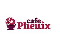 Cafe Phenix Rebrand