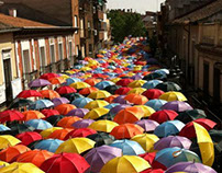 Umbrella Sky - Getafe, Madrid