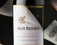 Errazuriz Max label redesign spot for Social Media.